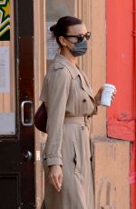 IRINA SHAYK Out for Coffee in New York 05/12/2021