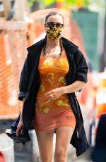 IRINA SHAYK Out in New York 05/19/2021