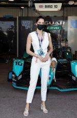 IRIS MITTENAERE and LEA SEYDOUX at Monaco E-Prix 2021 05/08/2021