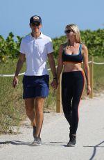 IVANKA TRUMP and Jared Kushner Out Hiking in Miami 05/08/2021