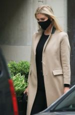 IVANKA TRUMP Out in New York 04/27/2021