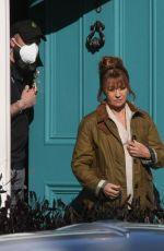 JANE SEYMOUR on the Set of Harry Wild in Wicklow 04/30/2021