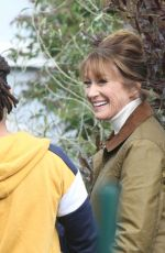 JANE SEYMOUR Out Filming in Wicklow 05/03/2021