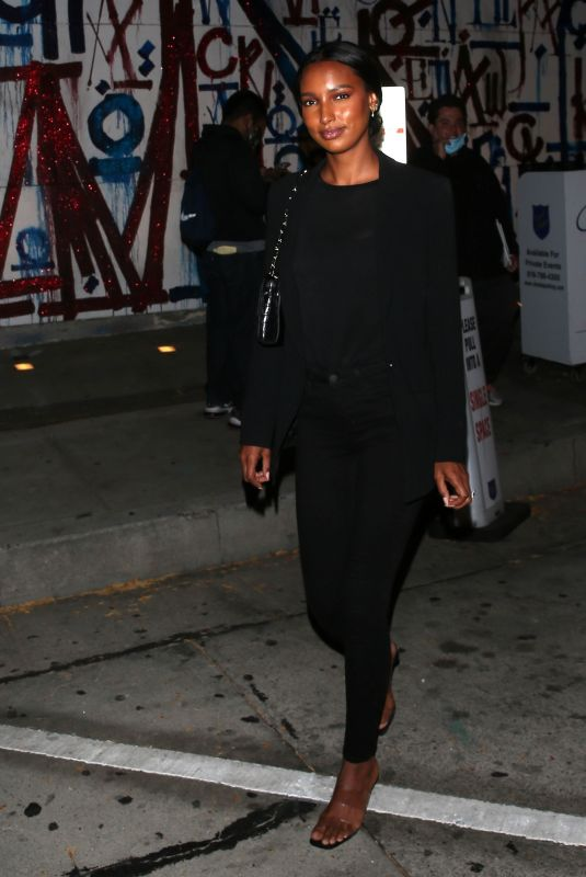 JASMINE TOOKES at Craig's Restaurant in West Hollywood 05/22/2021