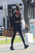 JASMINE TOOKES Out Shopping in Beverly Hills 05/26/2021