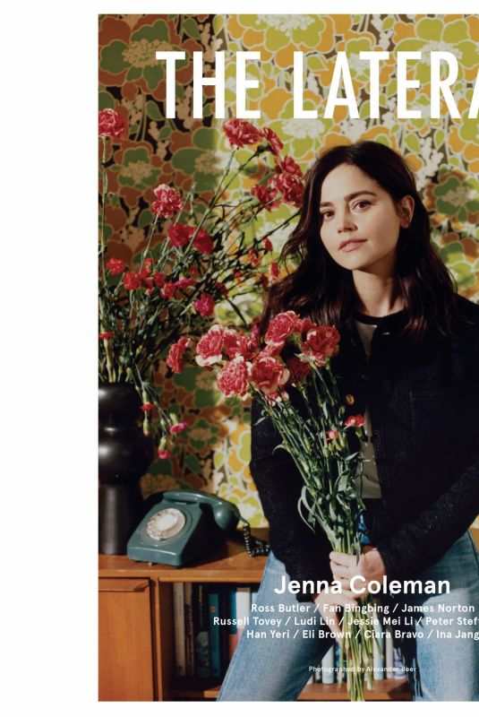 JENNA LOUISE COLEMAN for Laterals Magazine, Summer 2021