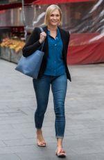 JENNI FALCONER Leaves Breakfast Show in London 05/04/2021