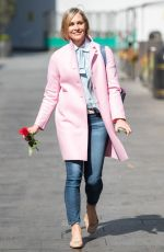JENNI FALCONER Leaves Smooth FM in London 04/30/2021