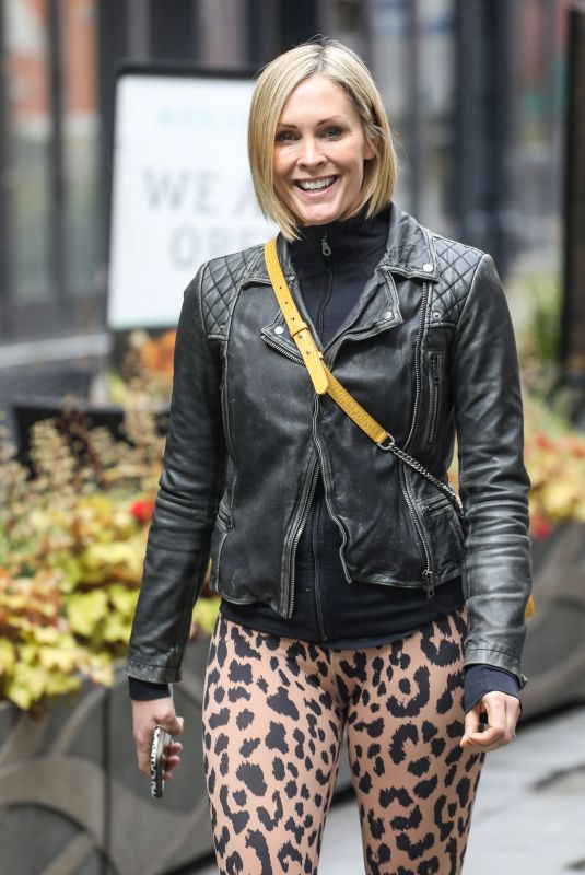 JENNI FALCONER Leaves Smooth FM Show in London 05/25/2021