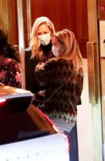 JENNIFER ANISTON Night Out with Friends in Los Angeles 04/30/2021