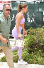 JENNIFER LOPEZ Arrives at a Gym in Miami 05/27/2021