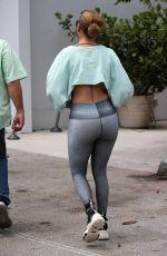 JENNIFER LOPEZ Arrives on Gym Session in Miami 05/13/2021