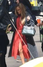 JENNIFER LOPEZ Back to Work Filming for Coach in Miami 05/12/2021