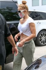 JENNIFER LOPEZ Leaves a Gym in Miami 05/11/2021