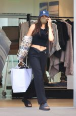 JESSE JO STARK Out Shopping in Malibu 05/25/2021