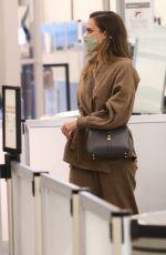 JESSICA ALBA Arrives at JFK Airport in New York 05/06/2021