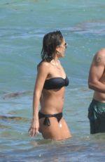 JESSICA ALBA in Bikni on the Beach in Miami 05/10/2021