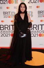 JESSIE WARE at 2021 Brit Awards in London 05/11/2021