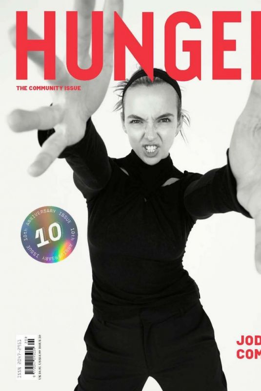 JODIE COMER in Hunger Magazine, May 2021