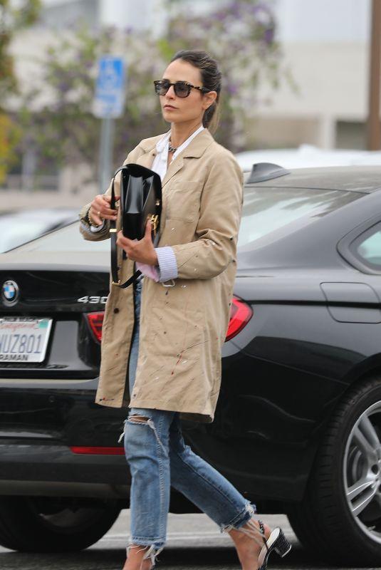 JORDANA BREWSTER at Bossa Nova in West Hollywood 05/13/2021