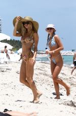 JOY CORRIGAN and TAYLOR JUSTINE in Bikinis at Miami Beach 05/01/2021
