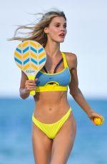 JOY CORRIGAN in Bikini a Photoshoot on the Beach in Miami 05/03/2021