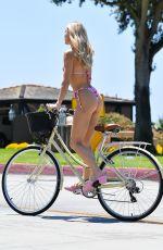 JOY CORRIGAN in Bikini at a Bike Ride in Los Angeles 05/27/2021