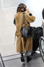 KAIA GERBER at JFK Airport in New York 05/11/2021