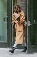 KAIA GERBER Leaves Crosby Hotel in New York 05/11/2021