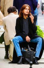 KAIA GERBER Outside a Restaurant in New York 05/11/2021