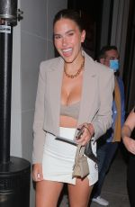 KARA DEL TORO Out for Dinner at Catch LA in West Hollywood 05/05/2021