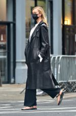 KARLIE KLOSS Out and About in New York 05/05/2021