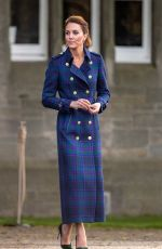 KATE MIDDLETON at a Drive-In Cinema at Palace of Holyroodhouse in Edinburgh 05/26/2021