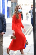 KATE MIDDLETON at National Portrait Gallery in London 04/07/2021