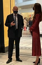 KATE MIDDLETON at V&A Museum in London 05/19/2021