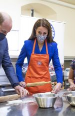 KATE MIDDLETON Prepares Meals at Palace of Holyroodhouse in Edinburgh 05/24/2021