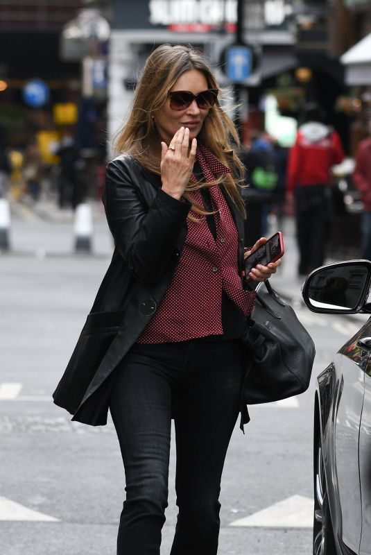 KATE MOSS Out and About in London 05/20/2021