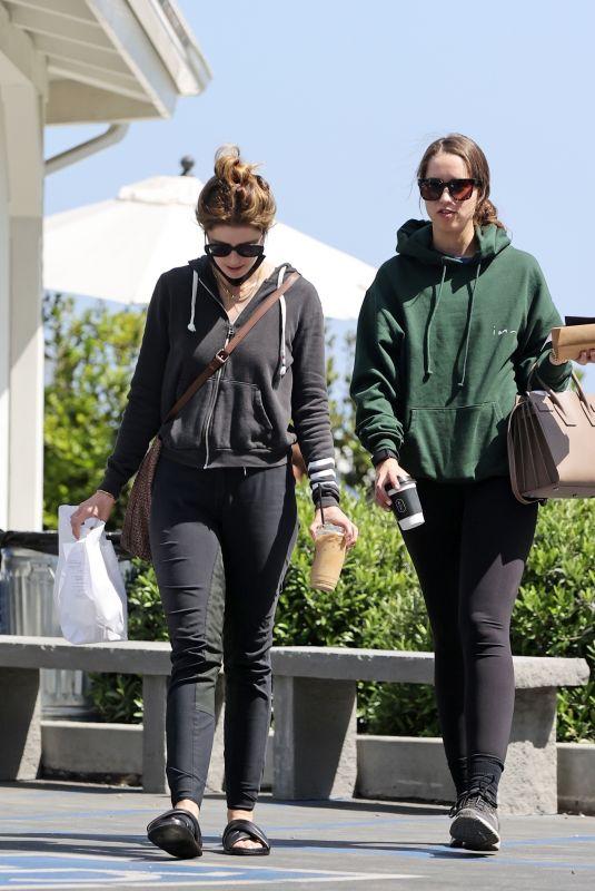 KATHERINE and CHRISTINA SCHWARZENEGGER Out in Santa Barbara 05/29/2021