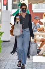 KATHERINE SCHWARZENEGGER Out Shopping in Pacific Palisades 05/18/2021