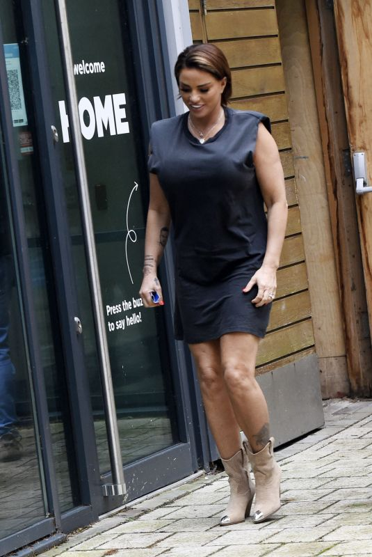 KATIE PRICE at Steph's Packed Lunch Studios in Leeds 05/26/2021
