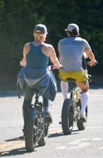 KATY PERRY and Orlando Bloom Out for a Bike Ride in Santa Barbara 04/29/2021