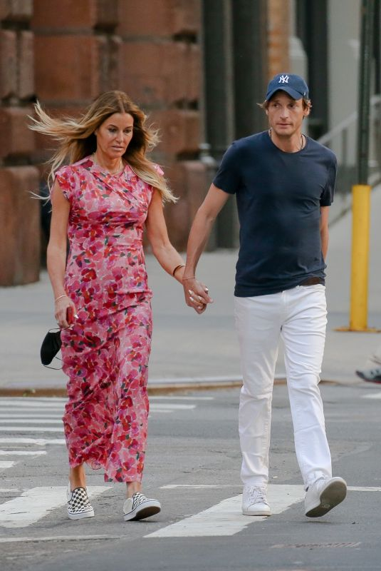 KELLY BENSIMON Out and About in New York 05/22/2021