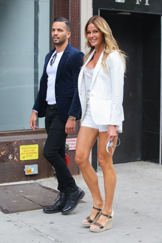 KELLY BENSIMON Out with a Friend in New York 05/24/2021