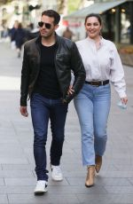 KELLY BROOK and Jeremy Parisi Out in London 05/12/2021