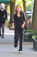 KELLY RIPA in Adidas Tracksuit Heading to a Gym in New York 05/13/2021