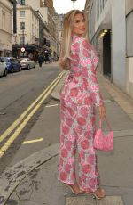 KELSEY STRATFORD Out in London 05/27/2021