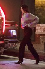 KENDALL JENNER Leaves a Bar in West Hollywood 05/17/2021