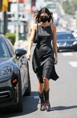 KENDALL JENNER Leaves Petite Taqueria in West Hollywood 05/27/2021