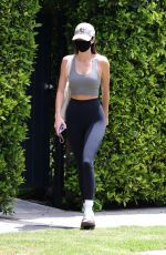 KENDALL JENNER Leaves Pilates Class in West Hollywood 05/02/2021