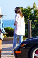KENDALL JENNER Out for Dinner in Malibu 05/03/2021